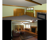 Basement Woodwork Design